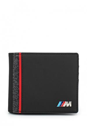 Портмоне Puma BMW M Collection Wallet black. Цвет: черный