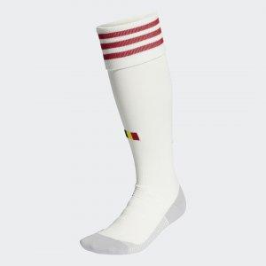 Гостевые гетры сборной Бельгии Performance adidas. Цвет: белый