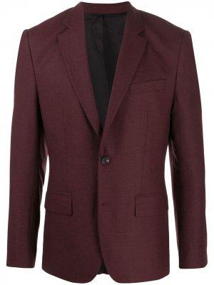 Однобортный пиджак Hopper J.Lindeberg. Цвет: красный