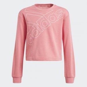 Джемпер Essentials Logo adidas. Цвет: розовый