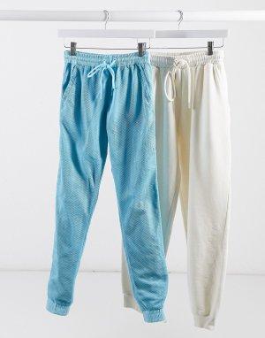 Спортивные штаны от комплекта с манжетами -Голубой Criminal Damage