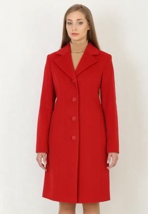 Пальто Trifo. Цвет: красный
