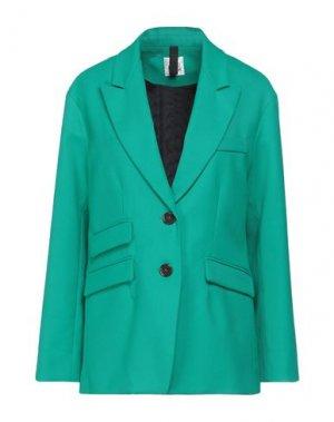Пиджак ATTIC AND BARN. Цвет: зеленый