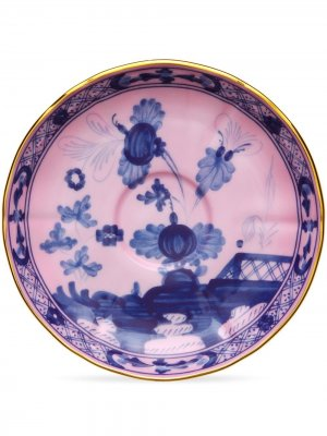 Oriente Italiano tea saucers (set of 2) Richard Ginori. Цвет: розовый