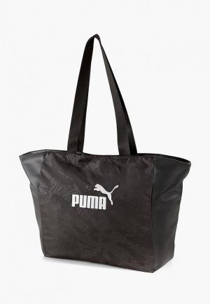 Сумка PUMA WMN Core Up Large Shopper. Цвет: черный