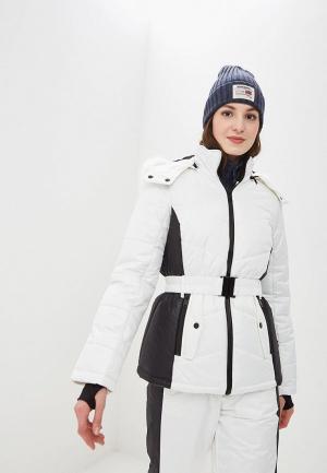 Куртка горнолыжная Dorothy Perkins. Цвет: белый