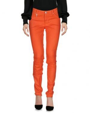 Повседневные брюки LEROCK. Цвет: оранжевый