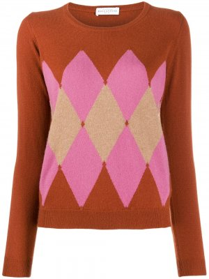 Argyle knit jumper Ballantyne. Цвет: оранжевый