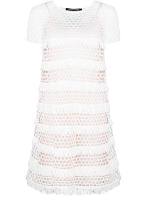 Платье с бахрамой ANTONINO VALENTI