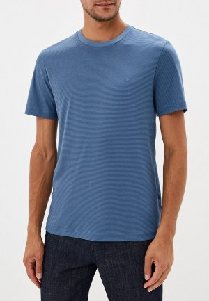 Футболка Calvin Klein. Цвет: синий