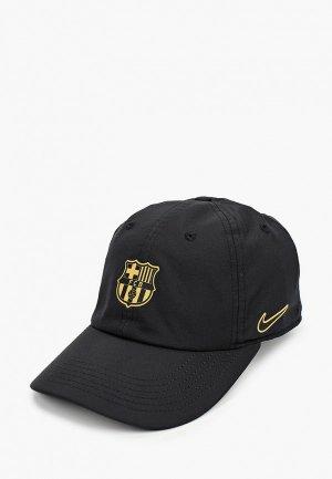 Бейсболка Nike FCB Y NK DRY H86 CAP. Цвет: черный