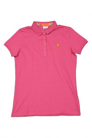 Поло U.S. Polo Assn.. Цвет: mr0180 фиолетовый