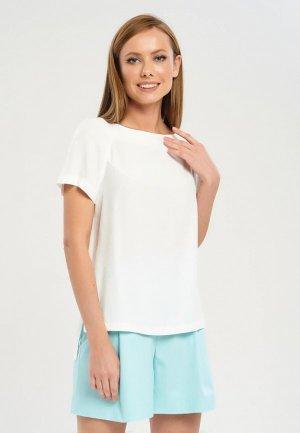 Блуза Akimbo. Цвет: белый