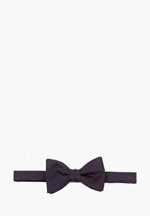 Бабочка Hugo Bow tie dressy. Цвет: синий