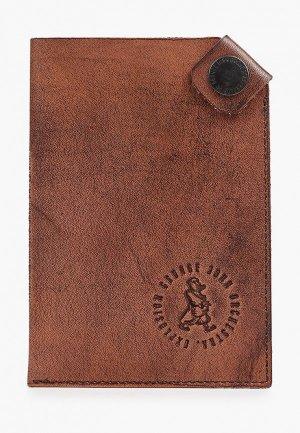 Обложка для документов GJO.E. Цвет: коричневый