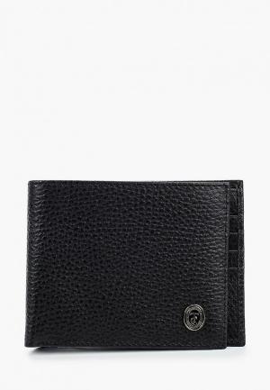 Кошелек Trussardi Collection. Цвет: черный