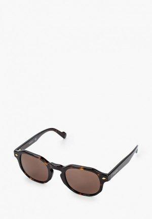 Очки солнцезащитные Vogue® Eyewear VO5330S W65673. Цвет: коричневый