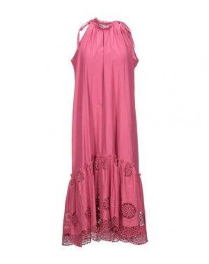 Платье миди CHARO RUIZ IBIZA. Цвет: розовато-лиловый