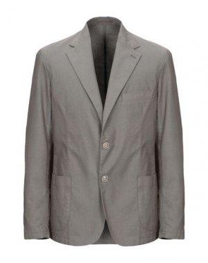 Пиджак ALESSANDRO GILLES. Цвет: хаки