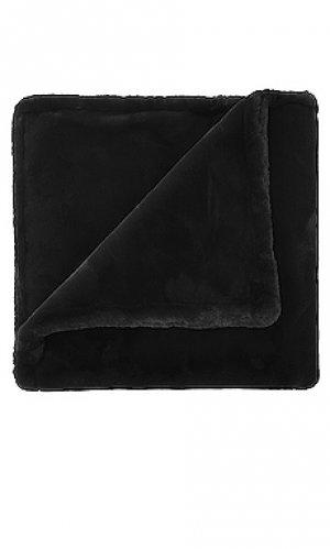 Одеяло shirley Apparis. Цвет: черный