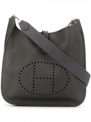 Сумка на плечо Evelyne 2 TGM pre-owned Hermès. Цвет: серый