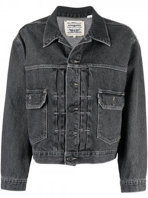 Levis: Made & Crafted джинсовая куртка Type II Levi's:. Цвет: серый