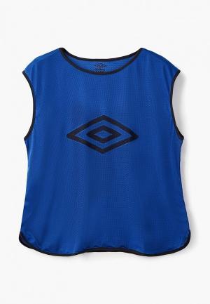 Майка спортивная Umbro. Цвет: синий