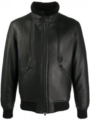 Куртка с высоким воротником Ermenegildo Zegna. Цвет: черный