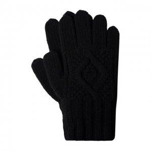 Кашемировые перчатки Ralph Lauren. Цвет: чёрный