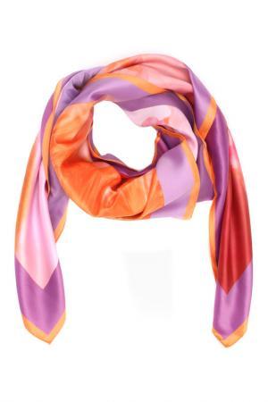 Платок F.FRANTELLI. Цвет: фуксия, фиолетовый, оранжевый