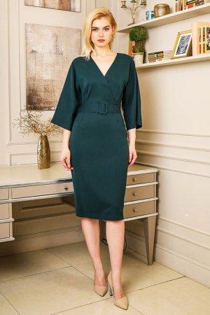 Платье BEZKO. Цвет: бутылочный