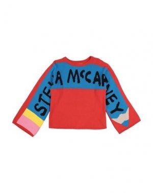 Свитер STELLA McCARTNEY KIDS. Цвет: красный