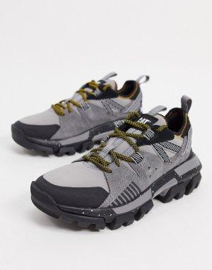 Кроссовки на массивной подошве CAT raider-Желтый Footwear