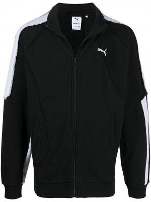 Спортивная куртка из коллаборации с Attempt Puma. Цвет: черный
