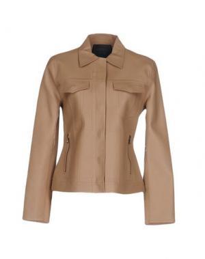 Куртка LANVIN. Цвет: телесный