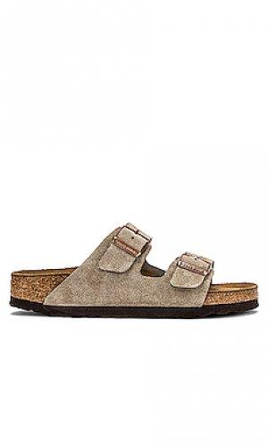 Туфли arizona sfb BIRKENSTOCK. Цвет: серо-коричневый