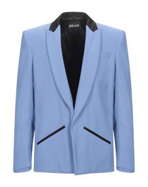 Пиджак JUST CAVALLI. Цвет: небесно-голубой