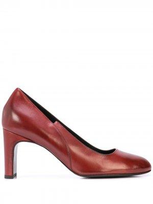 Туфли-слипоны Alberto Fermani. Цвет: красный