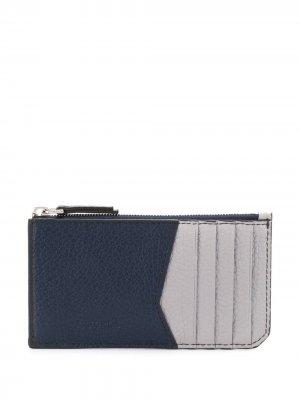 Contrast panel wallet Furla. Цвет: синий
