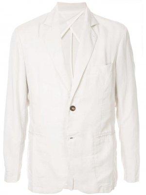 Пиджак без подкладки Venroy. Цвет: белый