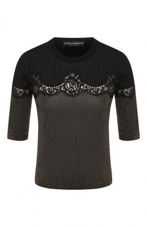 Пуловер Dolce & Gabbana. Цвет: черный