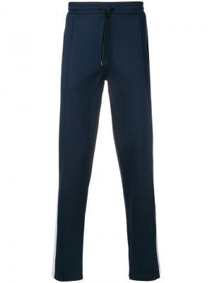 Классические спортивные брюки Calvin Klein. Цвет: синий