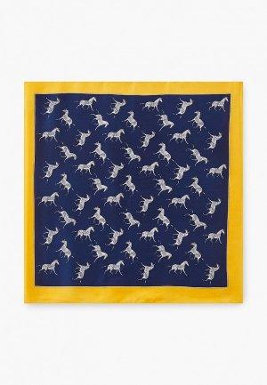 Платок Fiona Fantozzi. Цвет: синий