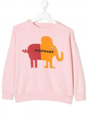 Printed sweatshirt Bobo Choses. Цвет: розовый