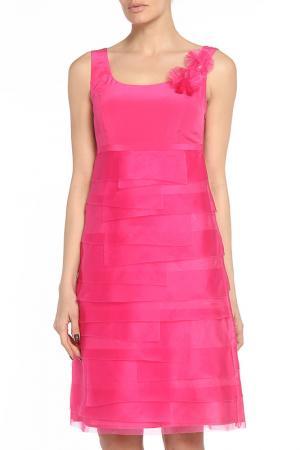 Платье Didier Parakian. Цвет: бордовый