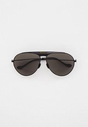 Очки солнцезащитные Gucci GG0908S. Цвет: черный
