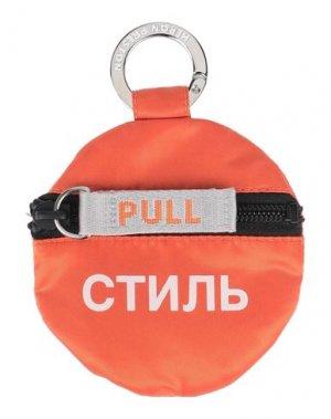 Кошелек для монет HERON PRESTON. Цвет: оранжевый