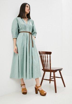 Платье Beatrice.B. Цвет: бирюзовый