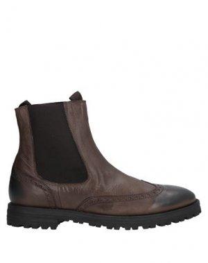 Полусапоги и высокие ботинки BOEMOS. Цвет: коричневый