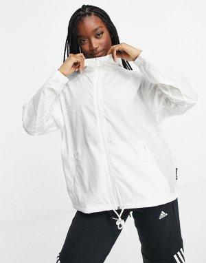 Белая ветровка -Белый adidas